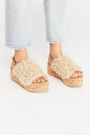 """Free People Sandals """"Compass Flatform"""" FP Collection Boho Shoes"""