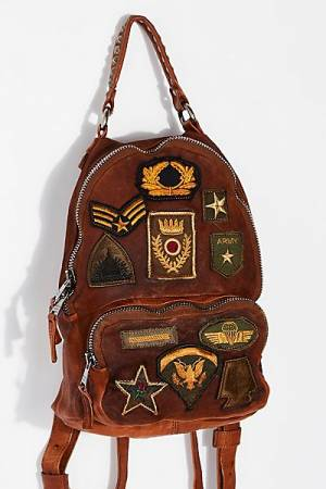 """Giorgio Brato Patched Backpack """"Sovana"""""""
