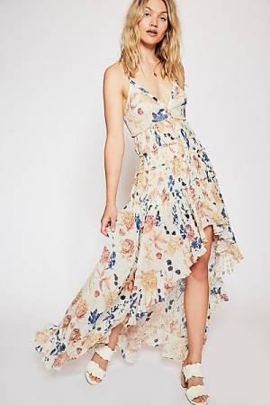 "Free People Floral Boho Maxi Dress ""Patry"""