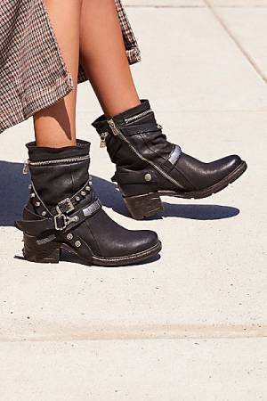 "A.S.98 Ankle Boots ""Nori"" Moto Style"