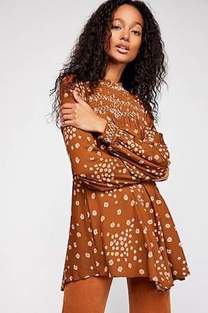 "Free People Tunic ""Flowers In Her Hair"""