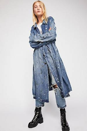 "Magnolia Pearl Denim Coat ""Wells Painter"""