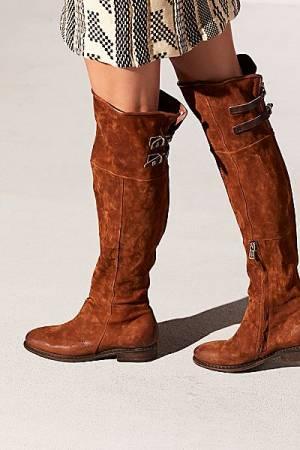 "A.S.98 Boots ""Ravyn"" Suede Thigh High"