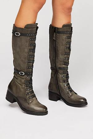 "Miz Mooz Boots ""Johnny"" Stud Knee-High"