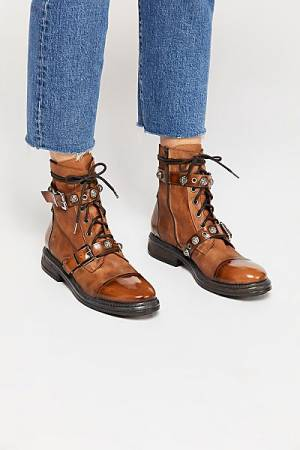 "Free People Combat Boots ""Dawson"" FP Collection"