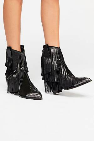 "Zadig & Voltaire Western Boots ""On The Fringe"""