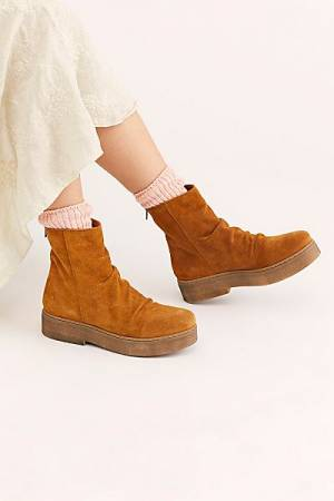 "Free People Boots ""Byron Flatform"""