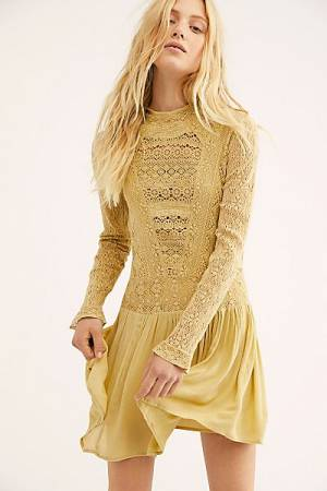 "Free People Mini Dress ""Pirouette Lace"""