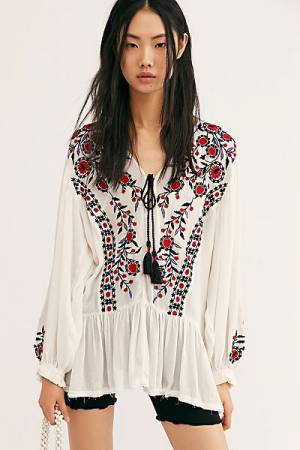 "Free People Boho Tunic Top ""Wild Dreams"""