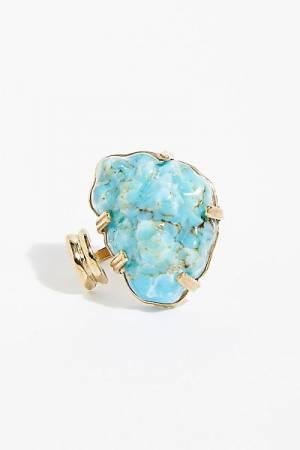 """Castlecliff Boho Turquoise Ring """"Peak"""""""