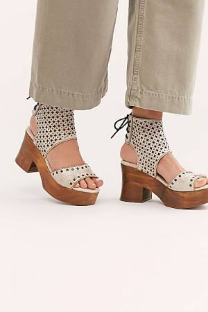 Bed Stu Platform Clog Sandals