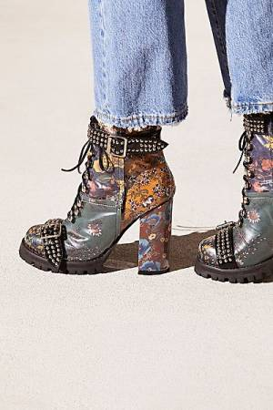 "Jeffrey Campbell Boots ""Lilith"" Boho Platforms"
