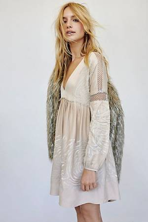 "Free People Mini Dress ""Starlight"""