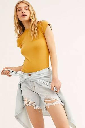 "OneTeaspoon Denim Shorts ""Stevie's Boyfriend Jeans"""