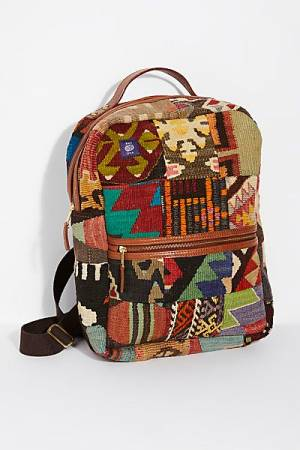 "Res Ipsa Backpack ""Kilim"" Boho Bag"