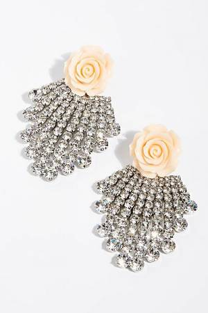 "Dannijo Stud Earrings ""Rose"""