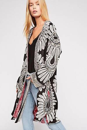 KAS New York Kimono Jacket