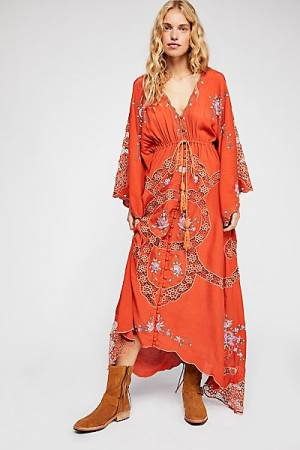 "Fillyboo Boho Maxi Dress ""Pretty Poison"" Bohemian"