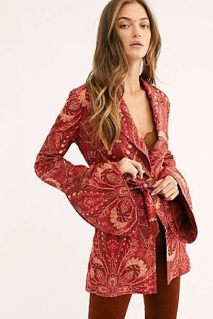 "Free People Boho Blazer Jacket ""Abigail"""