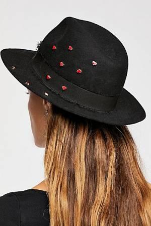 """Zadig & Voltaire Felt Hat """"Alabama Coeur"""""""
