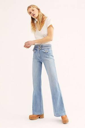 "Stone Immaculate '70s Bell Bottom Jeans ""Foxy"""