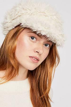 """House of Lafayette Cap """"Lulu"""" Faux Fur Hat"""