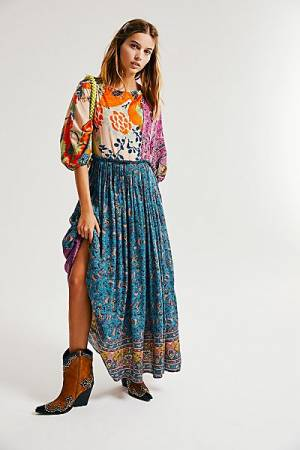 "Free People Bohemian Maxi Dress ""What You Want"""