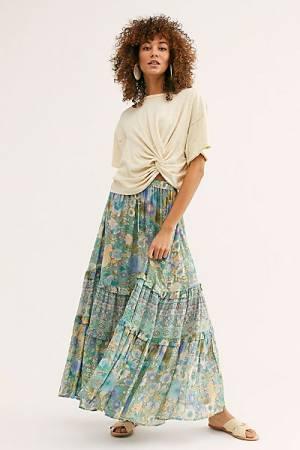 """Spell & The Gypsy Maxi Skirt """"Amethyst"""""""