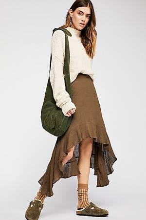 """KAS New York Midi Skirt """"Gauzy Flounce"""""""