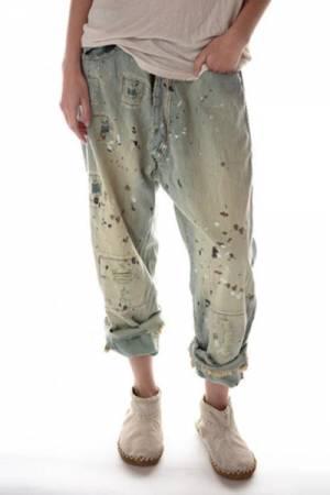 "Magnolia Pearl Jeans ""Miner"" Denim Pants"
