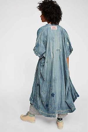 "Magnolia Pearl Denim Kimono ""Dashi"" Chambray"