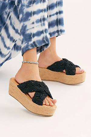 "Free People Sandals ""Crisscross"""