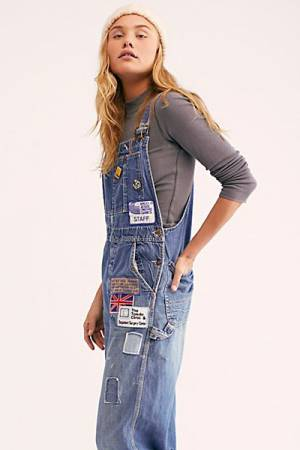 "Riley Vintage Denim Overalls ""Billy Hill"""
