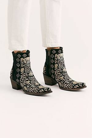 "Old Gringo Western Ankle Boots ""Wink"""