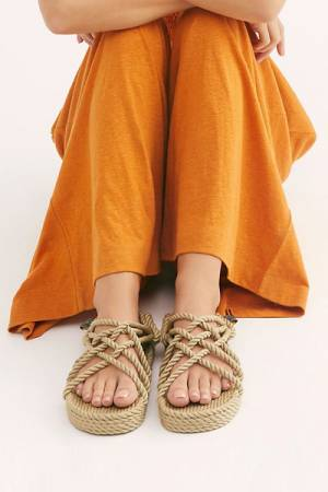 "Nomadic State Of Mind Rope Sandals ""Double Decker"""