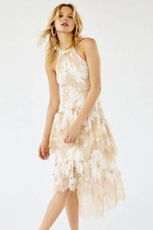 """Anna Sui Midi Dress """"Tealight"""""""