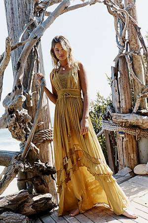 "Free People Dress ""Santa Maria Maxi"""