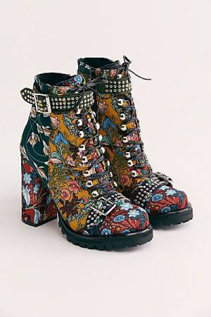 "Jeffrey Campbell Platform Boots ""Lilith II"" Boho Shoes"