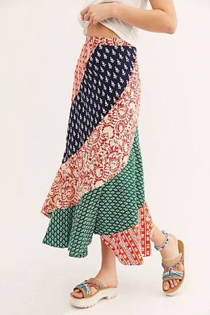 "Free People Maxi Skirt ""Polska"""