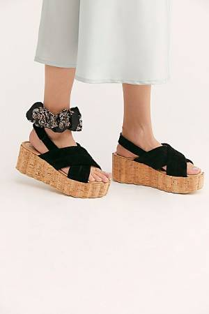 "Free People Platform Sandals ""Noelle"""