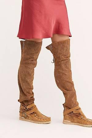 """El Vaquero Moccasin Boots """"Taylor"""""""
