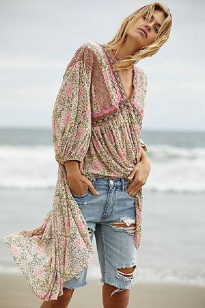 "Free People Tunic ""Moon Child"""
