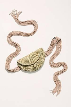 Nannacay Straw Belt Bag