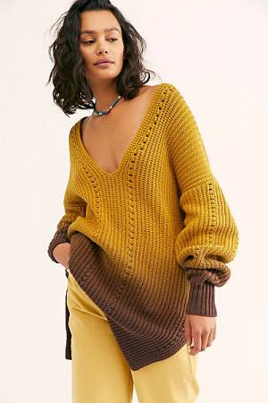 "Free People Sweater ""Chunky Tunic"""