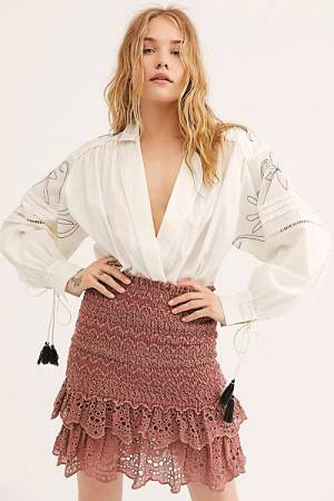 "Free People Mini Skirt ""Tessa"""
