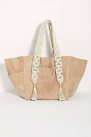 "Free People Suede Tote ""So Soft"""