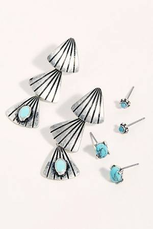 "Free People Earrings Set ""Lonestar"""
