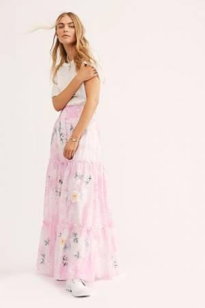 "Fillyboo Maxi Skirt ""Daisy Island"""