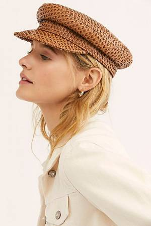 """Lack of Colour Leather Cap """"Mesa Hat"""""""