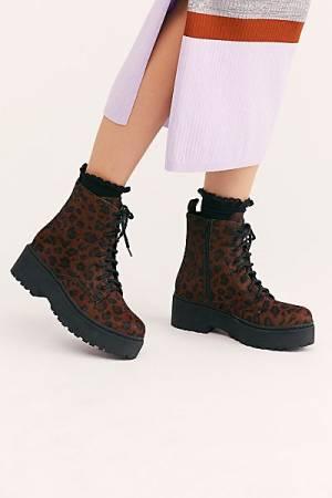 """Jeffrey Campbell Boots """"Sahara Cheetah"""""""